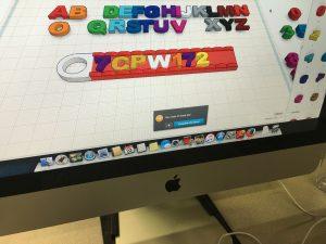 photo of computer screen